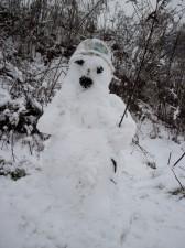Zima: odsłona druga. Wiadomo komu taka pogoda odpowiada najbardziej. Fot. BG