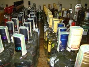 Zabezpieczono 250 litrów nielegalnego alkoholu Fot. KWP Radom