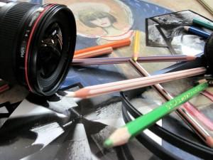 Zajęcia plastyczne, muzyczne, fotograficzne - sposób na spędzenie ferii imowych Fot. AB