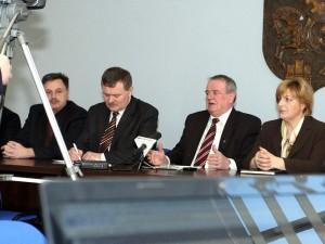 Kolejna konferencja w sprawie referendum Fot. AB