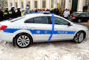 Najnowocześniejszy radiowóz w Polsce fot. UM