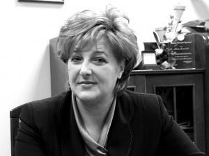 Marta Sosnowska, wiceprezydent Siedlec: Parytet to narzucenie komuś gotowego rozwiązania. A wydaje mi się, że to jednak powinno wypłynąć od konkretnej kobiety. Fot.AB