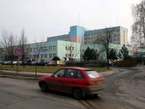Już w poniedziałek marszałek ogłosi decyzję dotyczącą szpitala. Fot. AB