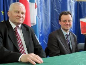 Henryk Górski, senator (pierwszy od lewej) i poseł Arkadiusz Czartoryski (na zdjęciu): Na Kongresie będziemy jedną z najsilniejszych grup. Fot. BG