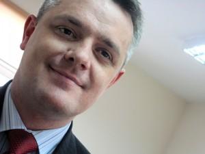 """Andrzej Filipek, prezes Siedleckiego Towarzystwa Budownictwa Społecznego: """"Kierowanie Placówką Terenową KRUS to zarządzanie przeszło stuosobową kadrą. To jest wyzwanie."""" Fot. BG"""