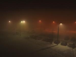 Ul. Sokołowska, godz. 21:40 Fot. AB