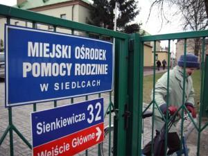 Zdaniem Ivetty Biały, rzeczniczki wojewody mazowieckiego Miejski Ośrodek Pomocy Rodzinie w Siedlcach wywiązuje się ze swoich zadań. Fot. AB