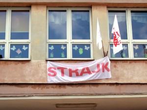 """""""Tym razem strajku nie będzie, ale obojętni też nie będziemy"""" - mówi prezes ZNP Fot. AB"""