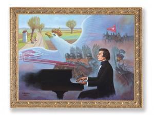 Obraz na 200 Rocznicę Urodzin Fryderyka Chopina Fot.UM