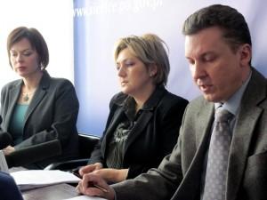 Konferencja prasowa w Prokuraturze Okręgowej w Siedlcach. Fot. BG