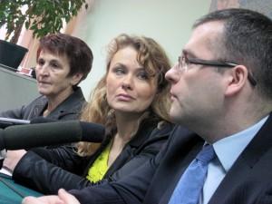 Jest młody, ambitny i ma plany - powiedziała o Macieju Drabio Katarzyna Piekarska. Fot.BG