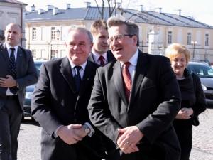 Wojciech Kudelski i Bronisław Komorowski.