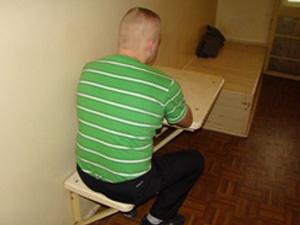 Jeden z zatrzymanych sprawców Fot.KWP Radom