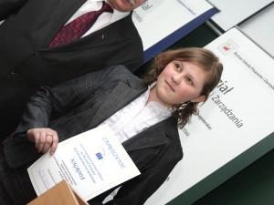 Trzecie miejsce wywalczyła Beata Myrcha Fot.AB