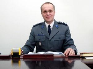 """Nadkom. Marek Fałdowski, komendant KMP Siedlce: """"Mogę zagwarantować, że bezpieczeństwo w naszym mieście nie zmalało."""""""