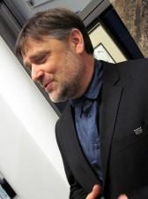 Tomasz Nowak, Adiunkt w Zakładzie Plastyki Akademii Podlaskiej w Siedlcach. W 2007 r. zainicjował działalność Galerii Akademii Podlaskiej, której jest kierownikiem artystycznym. Fot. AB