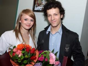 Eliza Kindziuk i Bartosz Woszczyński. Fot. AB