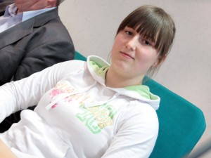 Srebrna medalistka Monika Michalak. Fot.AB