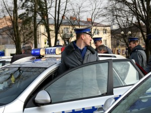 Policja przypomina o ostrożnej jeździe Fot.AB