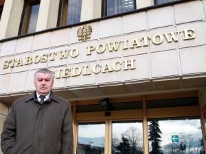 Zygmunt Wielogórski, starosta siedlecki: Jestem przekonany, że jest to budżet dobry i optymalny. Fot. AB