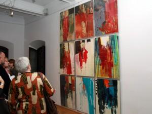 Przed nami kolejna wystawa malarstwa Tomasza Nowaka. Tym razem z Antonim Wróblewskim. Tu: Wernisaż w Muzeum Regionalnym 2008r. Fot. AB