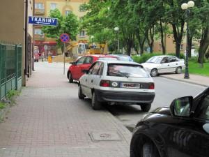 Jak widać kierowcy radzili sobie w różny sposób. Fot. BG