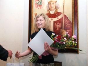 """Joanna Woszczyńska: """"Widziałam w programie tego chłopaka, którego mam w domu."""" Fot.AB"""