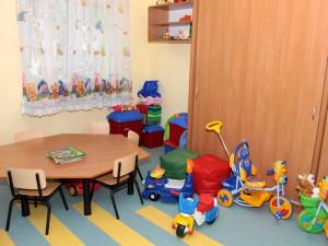 Jeden z pokoi w nowym budynku domu dziecka. Fot. AB