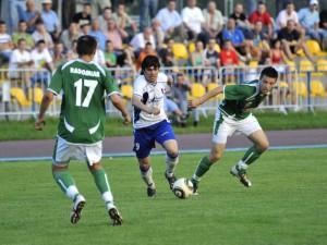 Zwycięski mecz Pogoni. Fot. JM