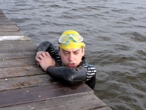 Paweł Janiak, pomysłodawca 1 Siedleckiego Triathlonu.