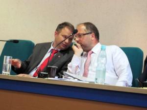 Mariusz Dobijański: Czuję zaszczyt, że mogę siedzieć koło mojego przyjaciela i kolegi, radnego Lewicy.