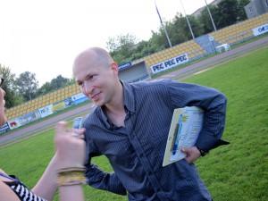 Grzegorz Siedlecki: Emocje, emocje i happy end. Fot. AB