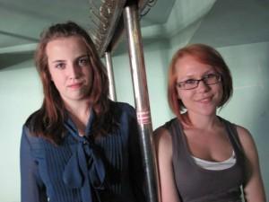Od lewej: Dominika Kuc i Paulina Kruk Fot. BG