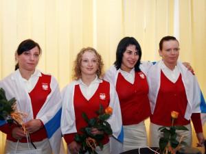 Dominika Misterska; tu: pierwsza od prawej. Fot.AB