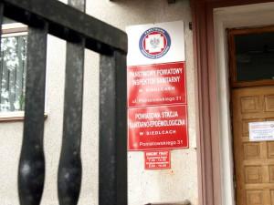 Powiatowa Stacja Sanitarno - Epidemiologiczna w Siedlcach.