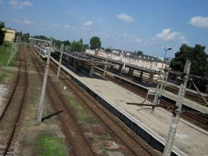 Dworzec i stacja PKP w Siedlcach. Jeszcze nie kolej na naszą kolej. fot. BG