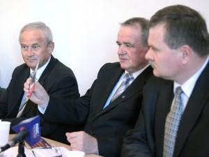 Konferencja prasowa w siedzibie PiS przy ul. Świętojańskiej. Fot. A.BORKOWSKA