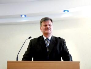 Radny Leszek Szymański - kolejny kandydat na prezydenta Siedlec.