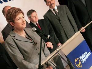 Elżbieta Lanc, kobieta PSL, PiS a teraz jedynka mazowieckiej PO.