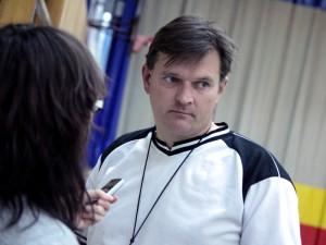 Maciej Nowak, trener KPS Siedlce. Fot. AB
