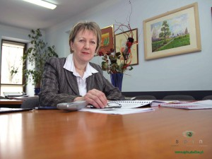 Maria Gadomska, dyrektorka MOPR. Fot. AB