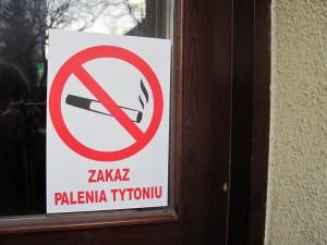 Wszystko wskazuje na to, że większość lokali w Siedlcach będzie opatrzona takim znakiem. Fot. BG