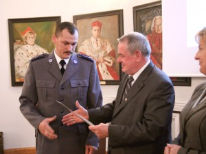 III. miejsce - mł. aspirant Marek Jastrzębski