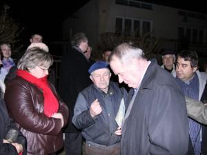 Prezydent na spotkaniu z mieszkańcami ul. Radzyńskiej. Fot. AB