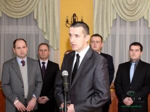 Tomasz Marciniuk, lider lokalnego koła PJN. Fot. AB