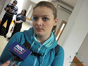Olga Ruta - jedna z finalistek Konkursu. Fot. BG