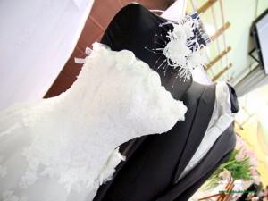 Suknia ślubna z Salonu Mirage. Fot. AB