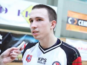 Mateusz Majcherek. Czy nie zobaczymy go w sezonie 2011/2012. Fot. AB