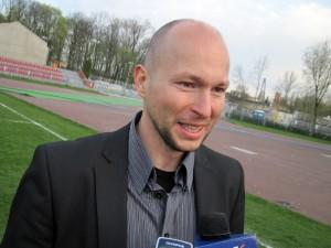 Grzegorz Siedlecki, trener MKP Pogoń: Mecz nam ewidentnie nie wyszedł. Fot. BG