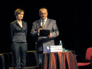 Sławomir Kindziuk podczas promocji książki. Fot. archiwum bohatera art.